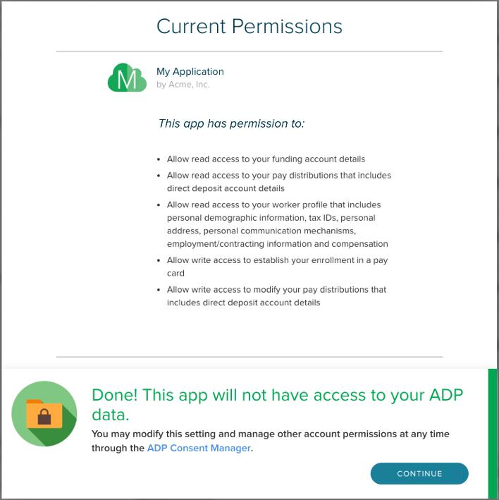 Adp Marketplace Developer Portal